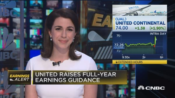 United jumps after Q2 earnings, beats revenue