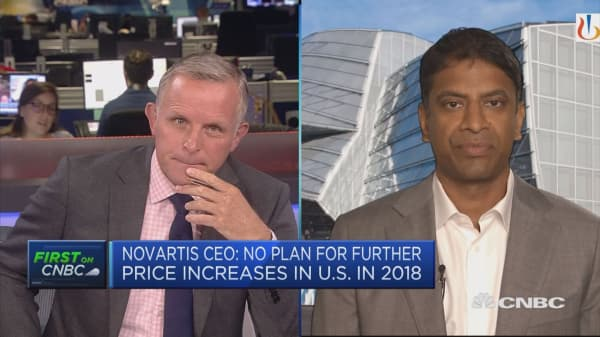 Novartis CEO