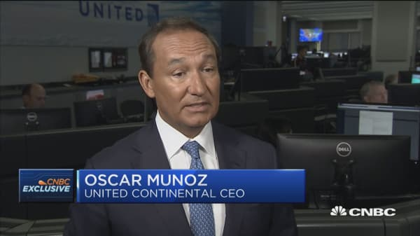 United Airlines CEO: It's nice to have 'wins' quarter after quarter