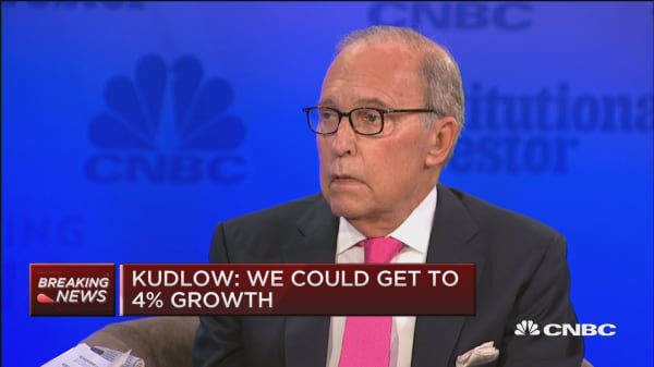 CEA's Kudlow: I'm honored to have this job