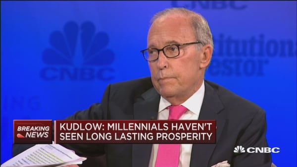 Kudlow: Tax cuts will produce revenue loss in the short term