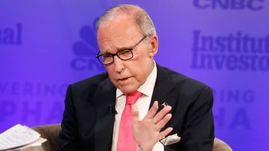 Larry Kudlow, Director of the National Economic Council.