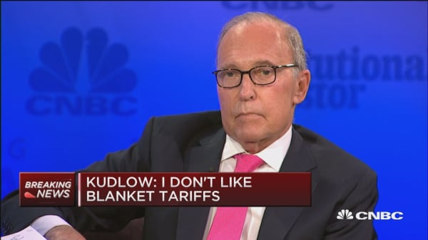 Kudlow: No recession in sight right now