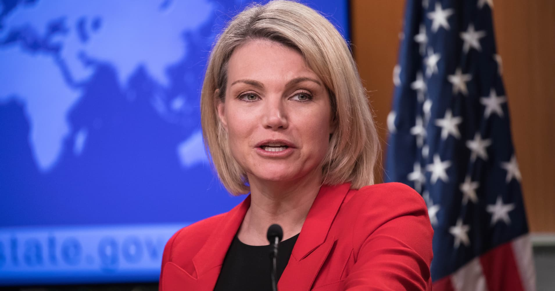 Ex-Fox News anchor Heather Nauert withdraws from consideration as UN ambassador