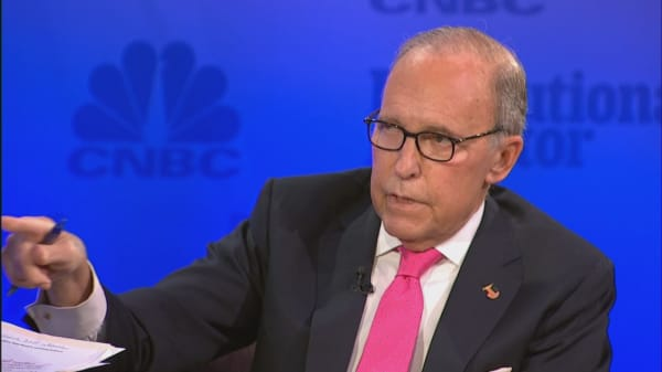 Kudlow: I'm not a big fan of tariffs but we can't allow China to steal our technology
