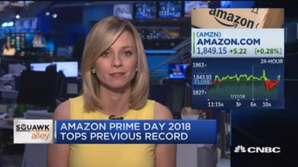Amazon Prime Day 2018 tops previous record