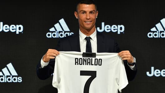 the latest e200a 5a566 Juventus sold over $60 million of Ronaldo jerseys in just ...