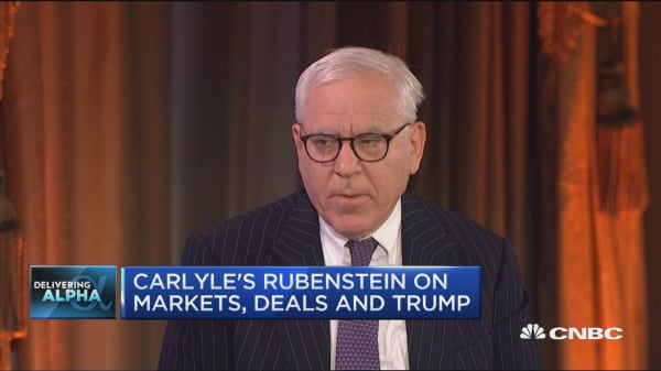 Carlyle CEO: No evidence of an economy slowdown