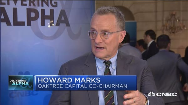 Oaktree's Marks: Stocks are probably fairly priced here