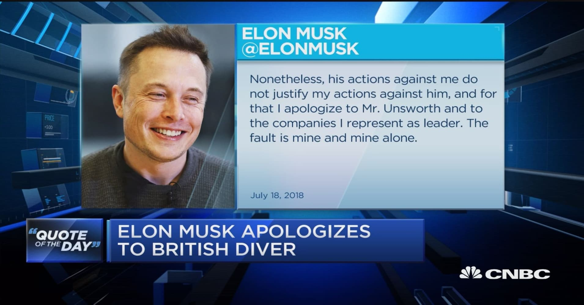 elon musk apologizes to british diver after investor letter