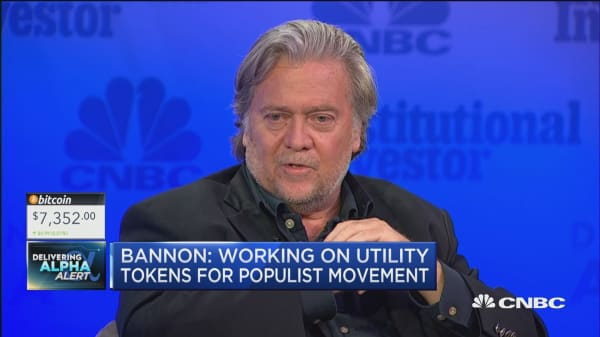Bannon on cryptocurrencies