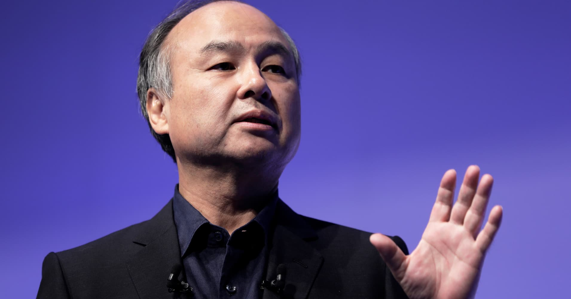 SoftBank shares surge after Masayoshi Son announces stock buyback