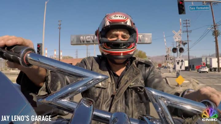 This 2016 Tower Trike gives Jay Leno a ride to remember
