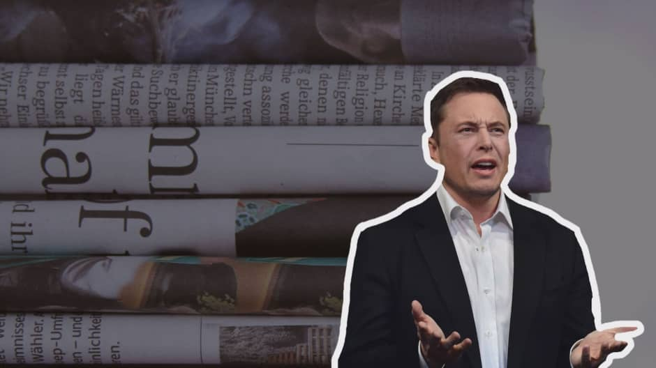 Top moments from Elon Musk's battle with the media