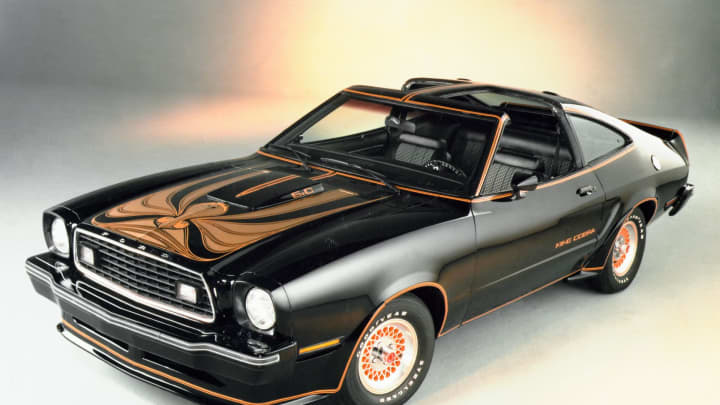 1978 Ford Mustang II King.