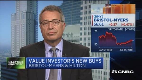 Value investors Nygren's Stock Buys: Hilton, Gartner, Bristol Meyers
