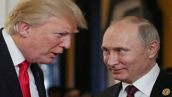 Trump invites Putin to White House to continue security talk