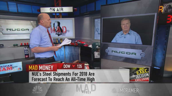 Nucor CEO thanks tariffs for second-best quarter in steelmaker's history