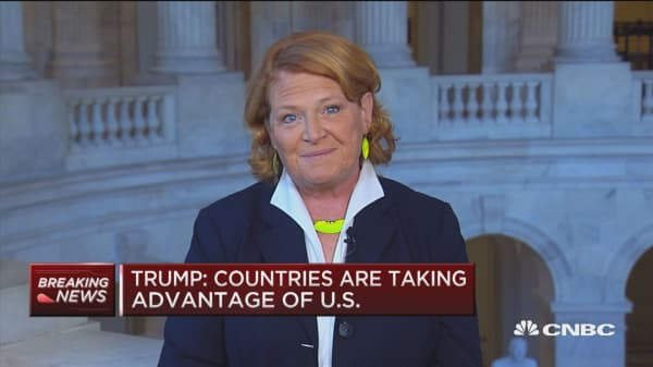 Sen. Heitkamp: We have to be concerned over what's happening with trade