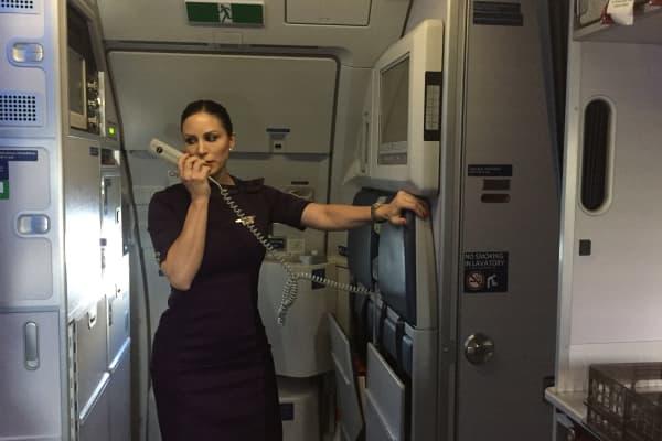 I spent a day on board with Delta flight attendant Melissa Pittman