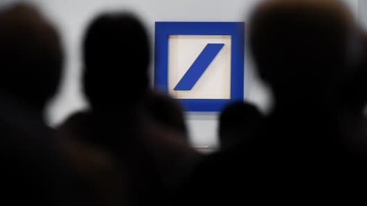 A general meeting of Deutsche Bank