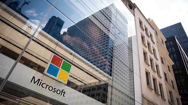 Microsoft hits all-time high after strong earnings