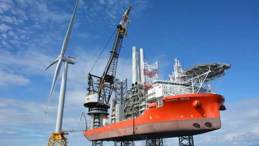 Milestone for offshore wind as $3.4 billion facility starts producing power
