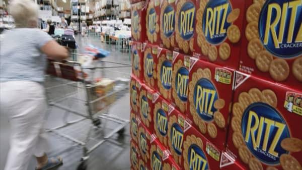 Mondelez recalls some Ritz Crackers over salmonella risk