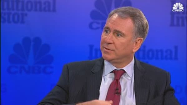 Hedge fund billionaire Ken Griffin on the real estate market