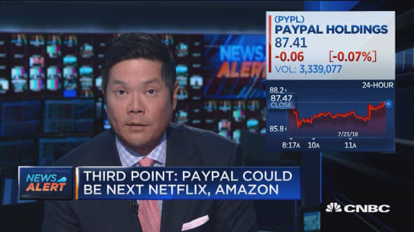 Third Point: Paypal could be the next Netflix or Amazon