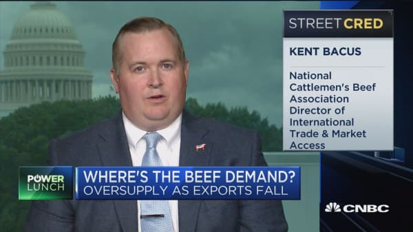 We need to look at other options besides tariffs: national cattlemen's beef assc director