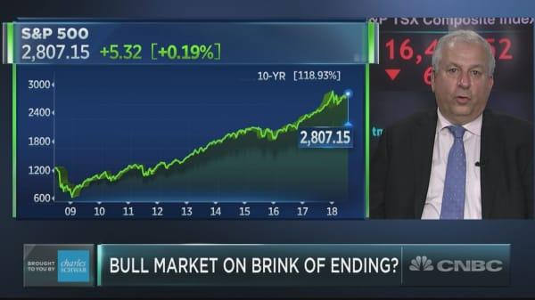 David Rosenberg issues bubble warning, warns it'll shatter bull market