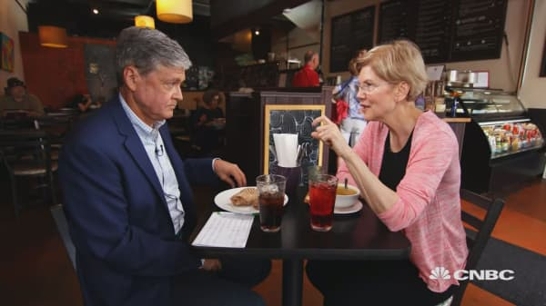 Warren: No impeachment yet