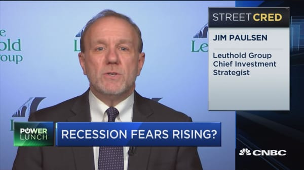 Stay in the market, raise low cash: Leuthold chief strategist on recession fears