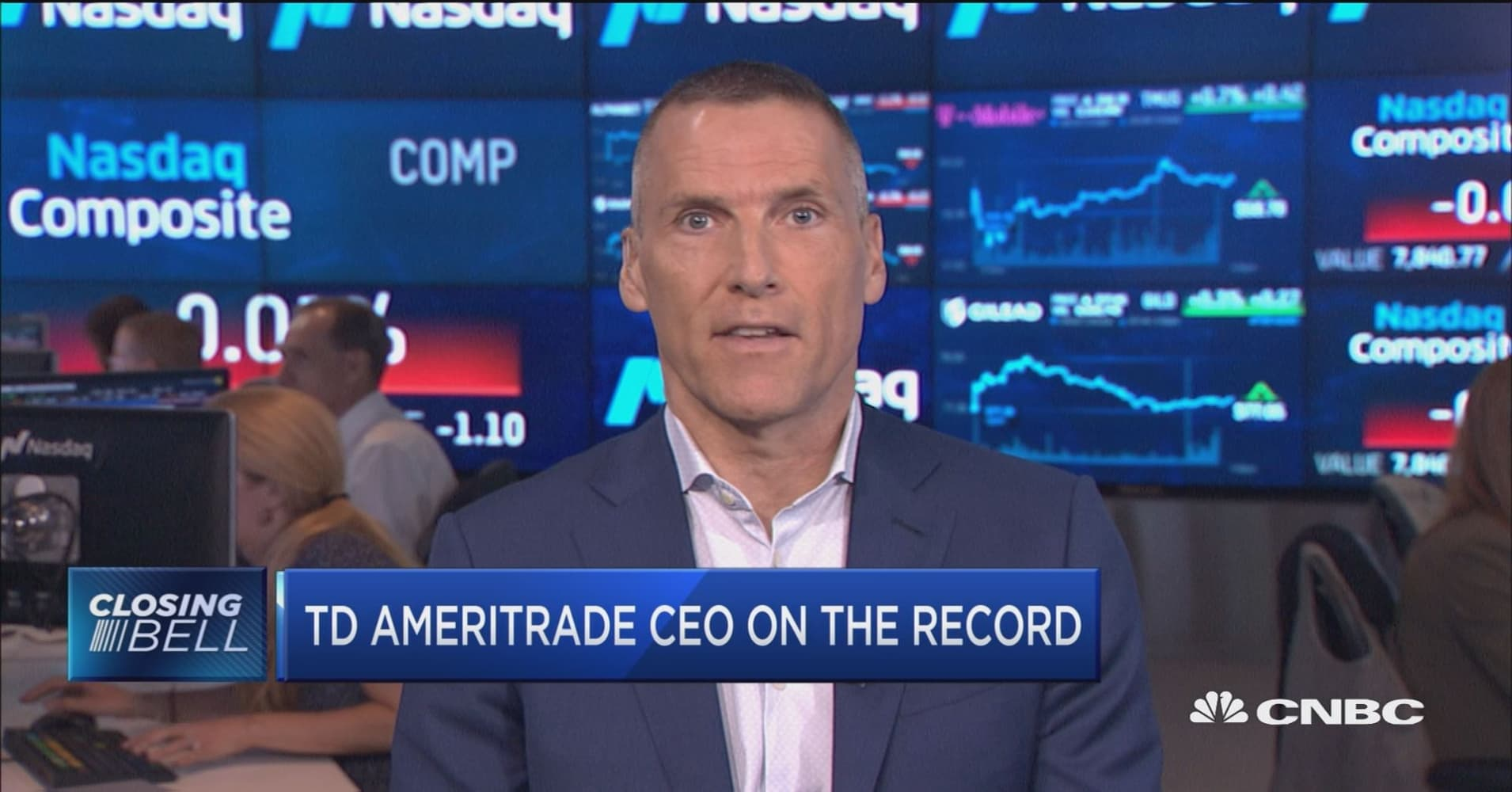 TD Ameritrade CEO on the record about company's earnings
