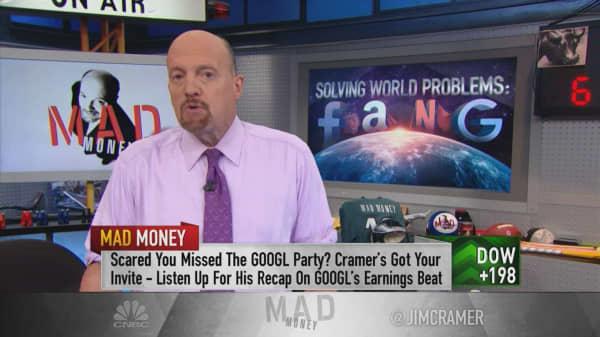 Cramer: FANG still has room to run after Alphabet's quarter