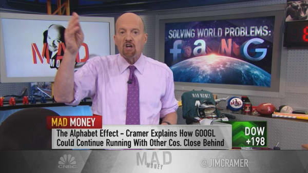 Cramer says FANG stocks could still have room to run after Alphabet's quarter