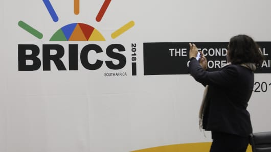 Brics Could Benefit From Global Trade Tensions
