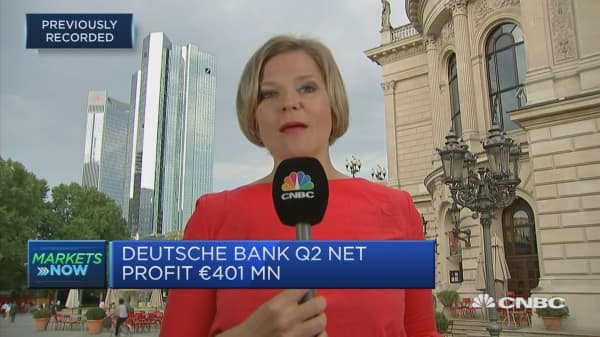Investment banking weakness could be why Deutsche Bank shares trading low