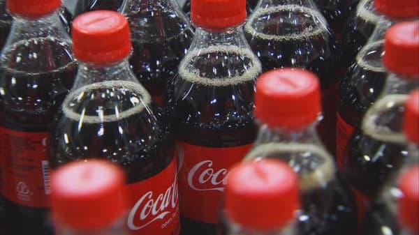 Coca-Cola reports quarterly beat