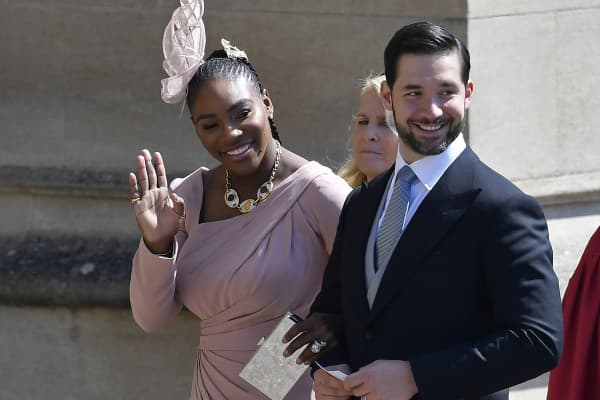 Alexis Ohanian married tennis star Serena Williams in 2017