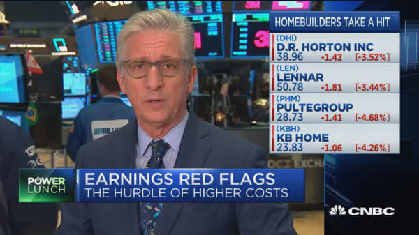 Earnings red flags, the hurdle of higher costs: Pisani