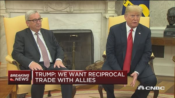 Trump: We want reciprocal trade with allies