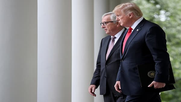 Trump and Juncker's full joint statement