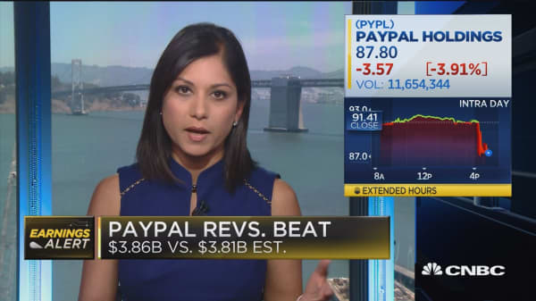 Paypal falls after missing Q3 revenue guidance