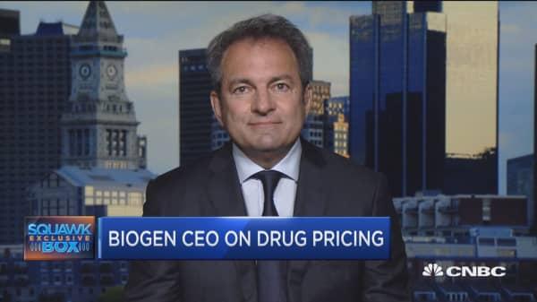 Biogen CEO: Alzheimer drug shows positive results