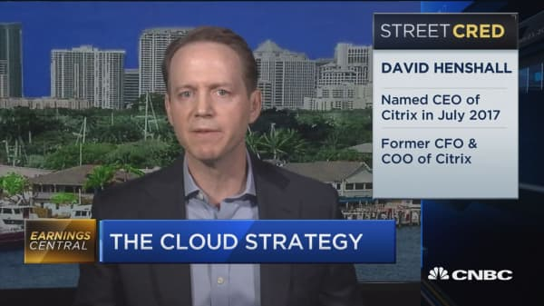 Citrix CEO: Our cloud strategy has put us ahead of projections