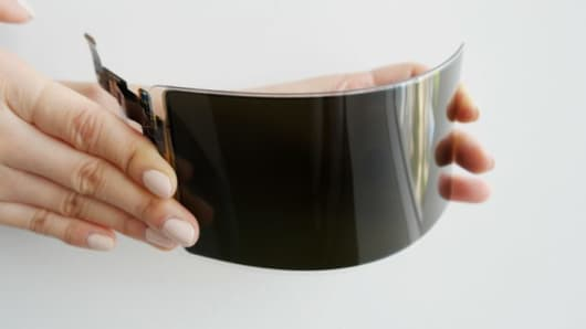 Samsung's unbreakable display