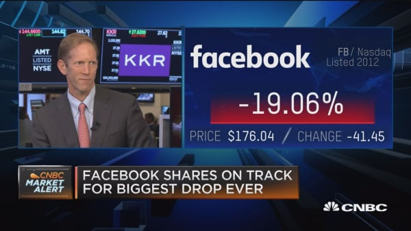 Facebook stock drop not the calamity everyone's making it out to be, says Business Insider's Henry Blodget