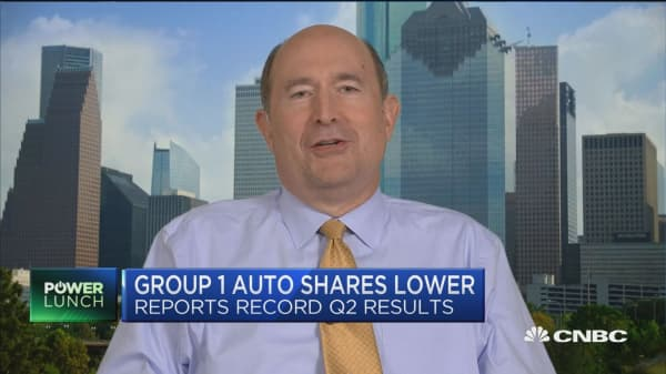 Group 1 Auto CEO on state of the auto industry and auto tariff threats